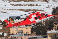 雷加河AS-350B-3 Ecureuil 免版税库存照片