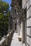 雷加莱拉宫,辛特拉,葡萄牙,2012年 免版税库存照片