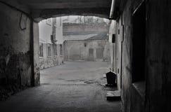 雷宾斯克镇,俄罗斯建筑学  老围场 库存图片