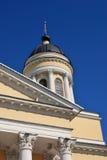 雷宾斯克镇,俄罗斯建筑学  1824年被创办的大教堂工厂意味nevyansk责任人pyatiprestolny石变貌yakovlev 免版税图库摄影