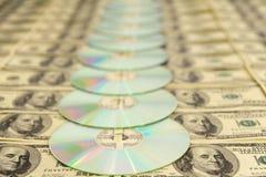 雷射唱片 免版税库存图片