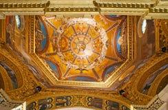 洛雷托省大教堂圆顶  库存照片