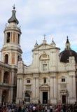 洛雷托省寺庙在意大利 图库摄影