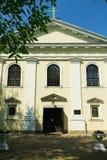 洛雷托省的我们的夫人的教会在华沙,波兰 免版税库存图片