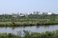 雷日纳,萨斯喀彻温省 库存图片