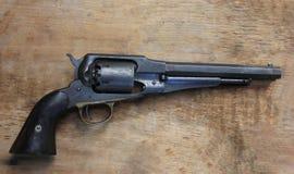 雷明顿模型1858专利左轮手枪复制品  免版税库存图片