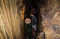 雷曼使游览-大盆地国家公园陷下-贝克,内华达 库存照片