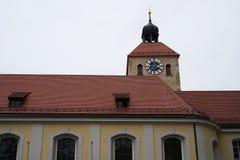 雷根斯堡是一个老德国城市 免版税图库摄影