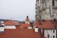 雷根斯堡是一个老德国城市 免版税库存照片