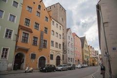 雷根斯堡巴伐利亚德国 库存图片