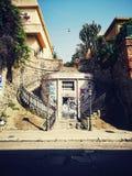 雷焦卡拉布里亚露台的市 免版税图库摄影