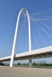 雷焦艾米利亚现代桥梁 免版税库存照片