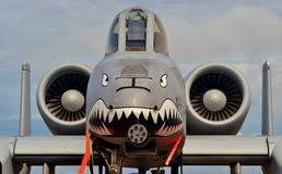 A-10雷电II/Warthog 免版税库存图片