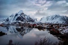 雷讷挪威 库存照片