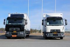 雷诺排列D卡车 免版税库存图片