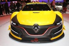 雷诺炫耀RS1在巴黎汽车展示会2014年 库存图片