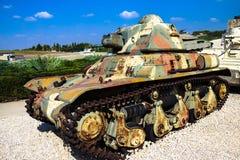 雷诺R-35轻型坦克 Latrun,以色列 免版税库存照片