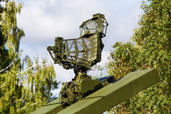雷达天线 免版税库存照片