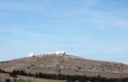 雷达的圆顶 免版税库存照片