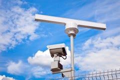 雷达监视系统 图库摄影
