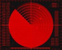 雷达网 免版税库存照片