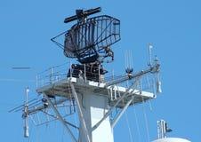 雷达船 免版税库存照片