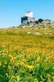 雷达系统Ð在Vitosha山的¡ herni Vrah 库存图片