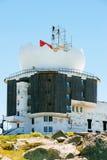 雷达系统的建筑 库存图片