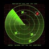 雷达 图库摄影