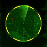 雷达 免版税库存照片