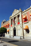 雷阿尔城,西班牙省委员会  免版税图库摄影