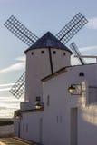 雷阿尔城,西班牙省的坎波德克里普塔纳  免版税库存照片