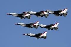 雷鸟美国空军 免版税库存照片