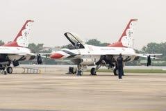雷鸟(美国空军队) 库存图片