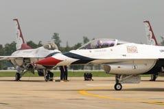 雷鸟(美国空军队) 库存照片