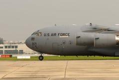 雷鸟(美国空军队) C-17 免版税库存图片