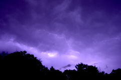 雷暴 库存图片