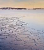 雾冻结的上升的海运 库存图片