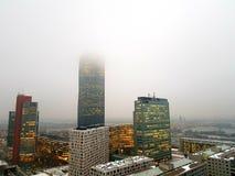 雾在维也纳 图库摄影