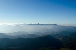 雾山 库存图片