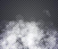 雾或烟 在透明背景的例证 皇族释放例证