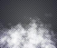 雾或烟 在透明背景的例证 向量例证