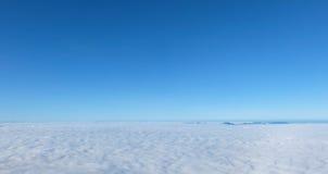 雾海在国家公园Chiangmai,泰国的 免版税库存照片