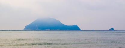 3雾海岛 免版税图库摄影