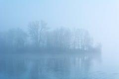 3雾海岛 库存图片