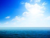 雾海洋水 免版税库存图片