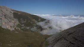 雾淡光时间间隔在山谷 股票录像
