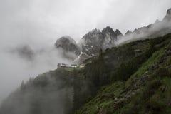 雾的之家 免版税库存照片
