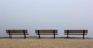 雾的观察台 免版税库存图片