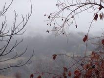 雾的Makaravank修道院 免版税库存图片